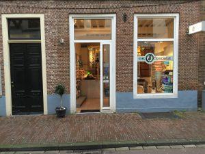 Inktspecialist winkel in Leiden